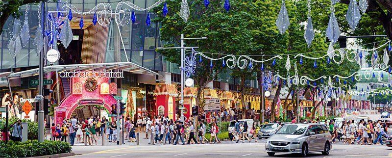 Singapura adalah negara dengan biaya hidup termahal