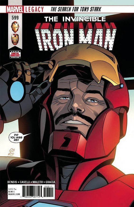 Tony Stark in Comic