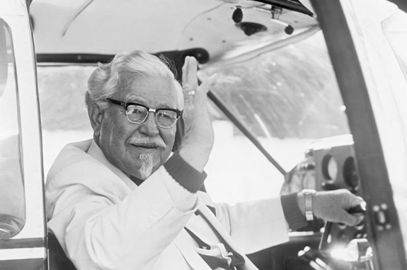 Kolonel Sanders (umur 90 tahun)