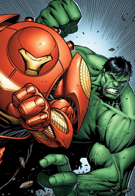 Hulkbuster di Comic
