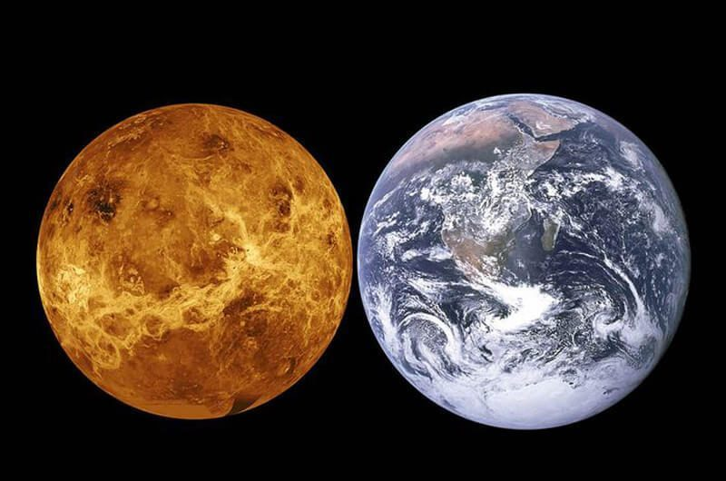 Bumi berubah menjadi Venus