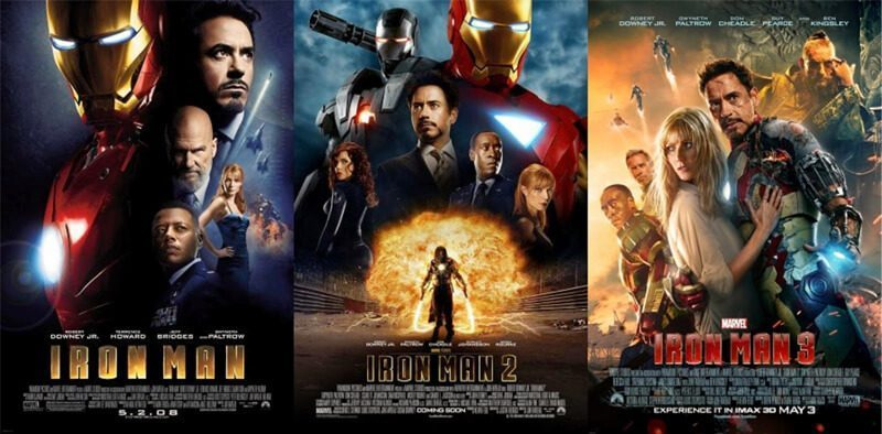 Ironman Trilogy, Film Ironman 1, 2 dan 3