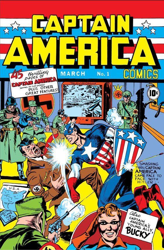 Captain America Komik Pertama