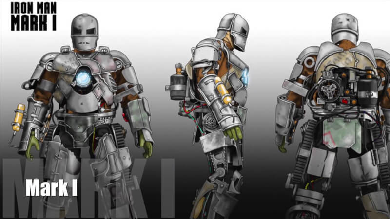 Ironman Suit 1. Mark I