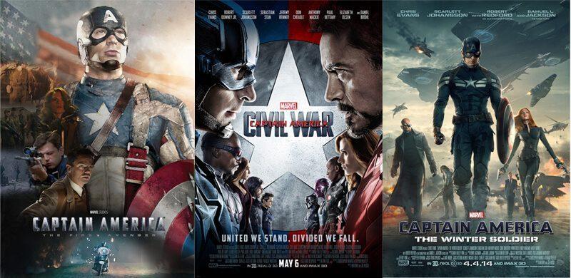 Daftar film kapten America