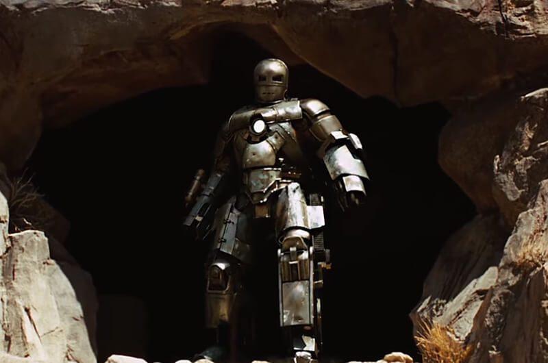 Ironman dengan baju armor pertama Mark I