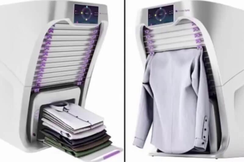 Mesin Pelipat Pakaian