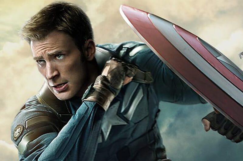 Chris Evans sebagai Captain America