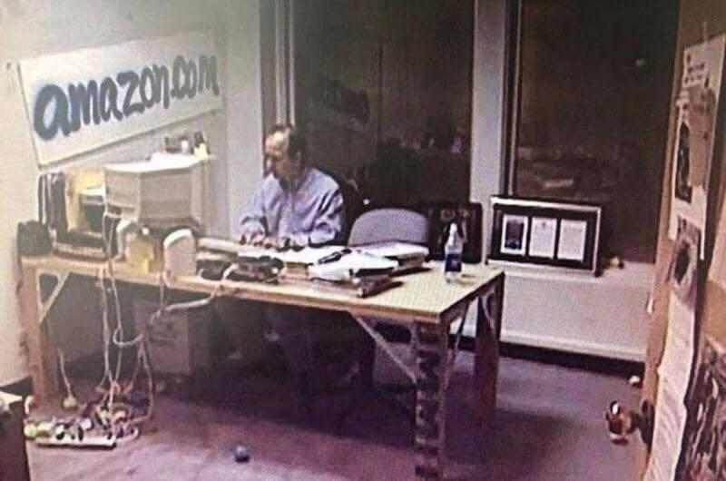 Kantor Amazon setelah berpindah dari Garasi