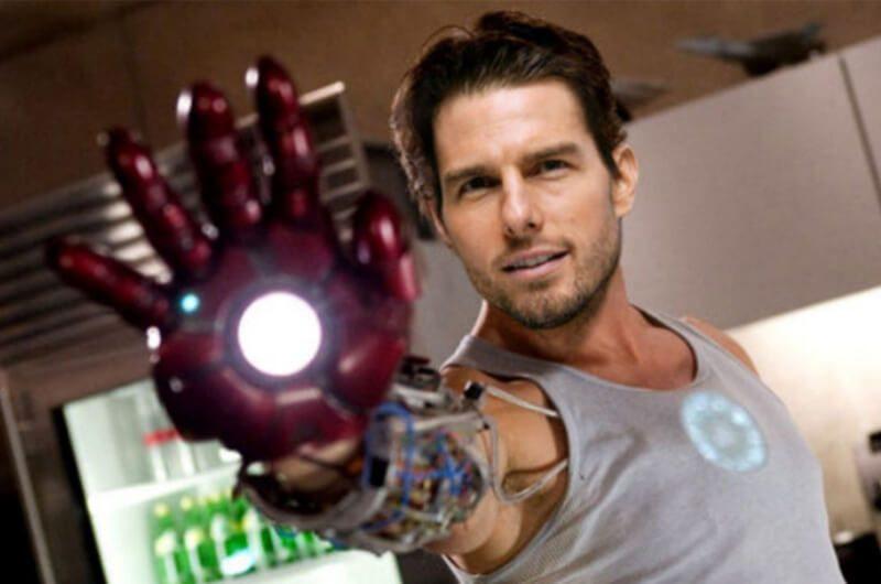 Tom Cruise hampir memiliki pemeran Tony Stark