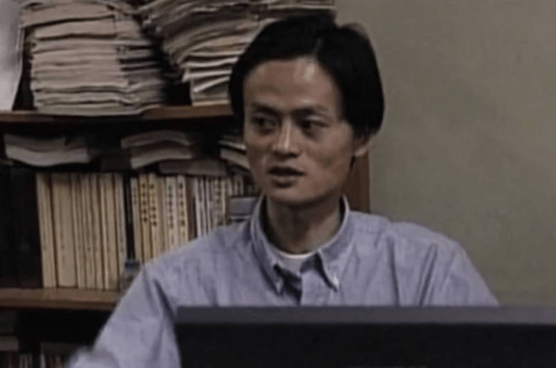 Jack Ma sebagai pengajar bahasa inggris
