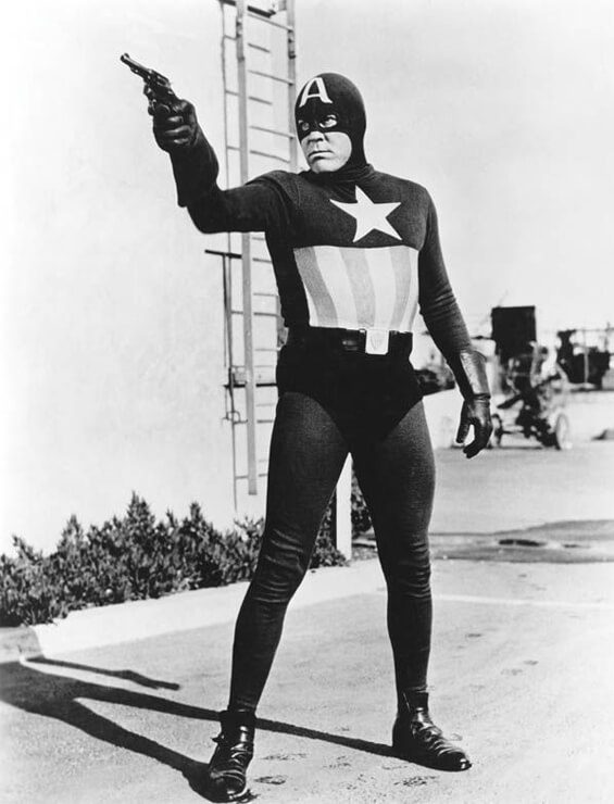 Captain America Serial Pertama