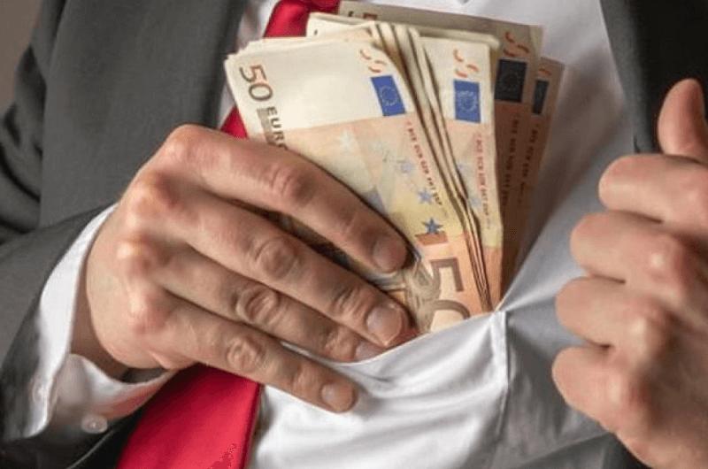 perbedaan negara kaya dan miskin - Korupsi