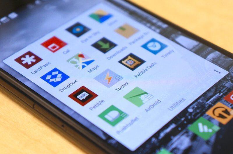 Aplikasi produktivitas di smartphone