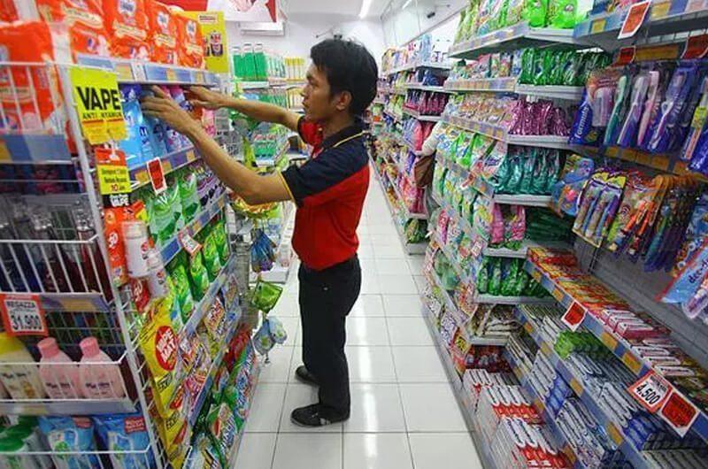Produk Alfamart dan Indomart yang seragam