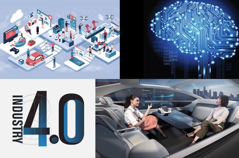 Industri 4.0, Kecerdasan Buatan, Mobil Otonom dan Internet of Things