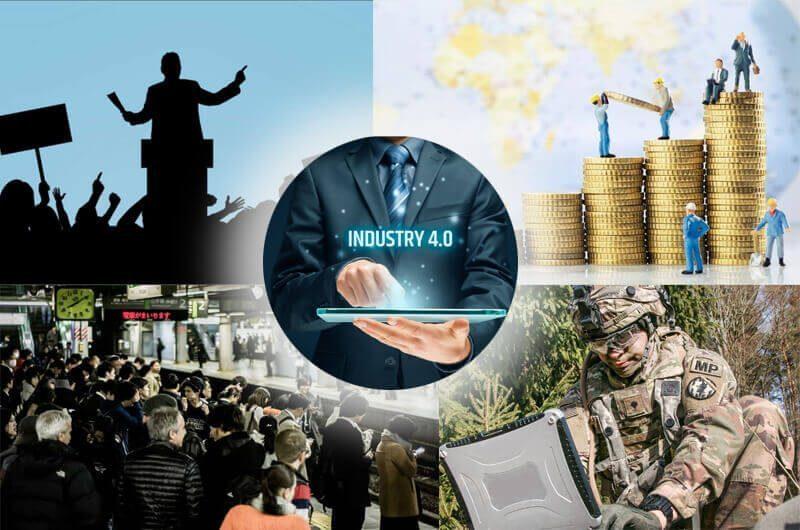 Revolusi Industri 4.0 berpengaruh pada Ekonomi, Politik, Budaya dan Militer