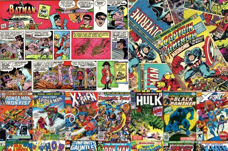 Tokoh superhero dilahirkan dari kisah komik