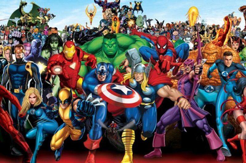 Kumpulan superhero Marvel, Fantastic Four dan X-Men