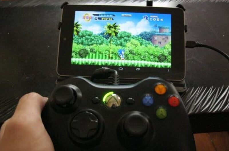 Bermain game Android dengan game controller