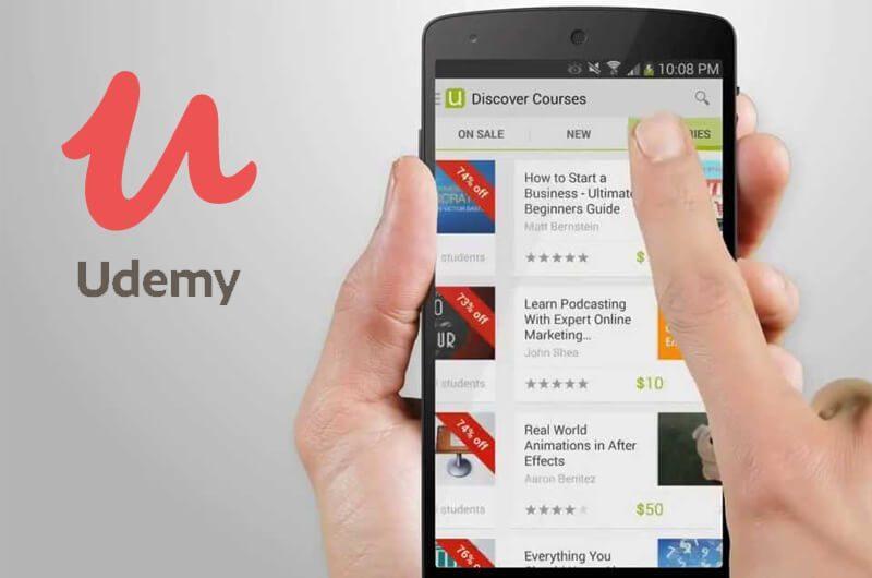 Aplikasi Android Udemy