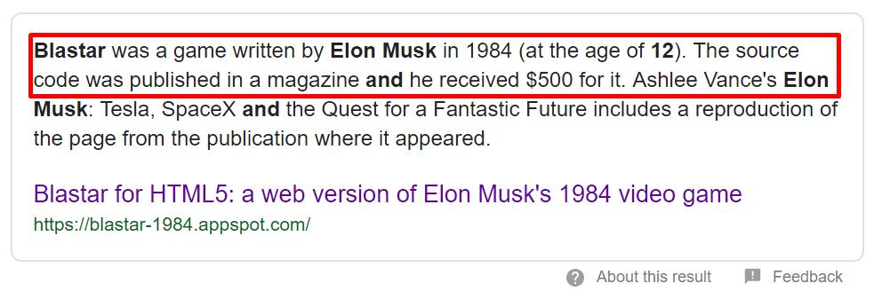Game Blastar oleh Elon Musk