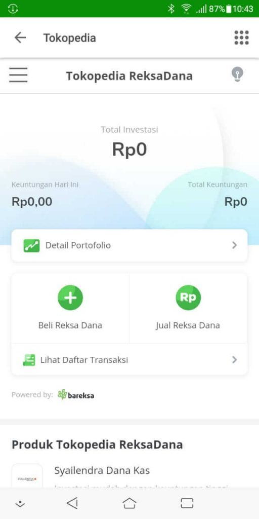 Investasi Reksadana di Tokopedia - Day 0 - 6 July 2019 1
