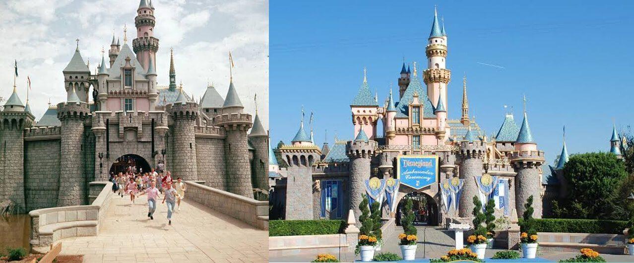 Disneyland di Anaheim California 1955 dan sekarang