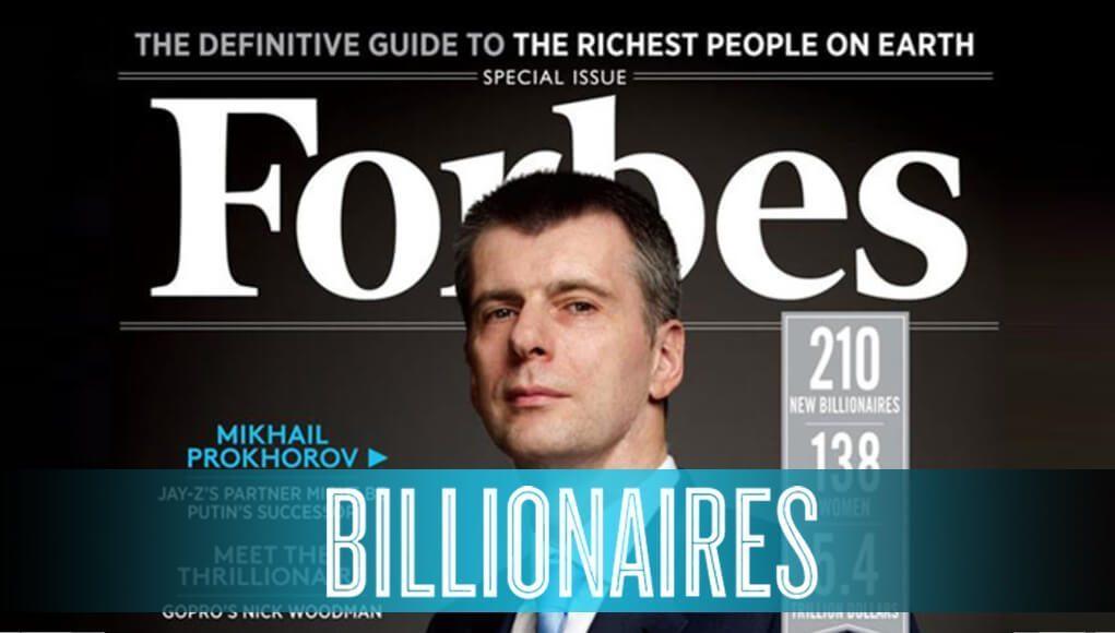Data Forbes dan Fakta Menarik Billionaire Dunia