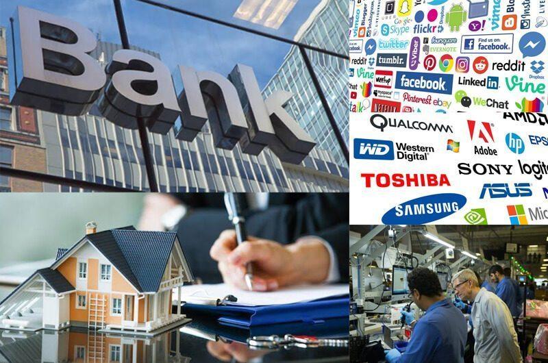 Industri untuk menjadi Billionaire - Financial, Teknologi dan Real Estate