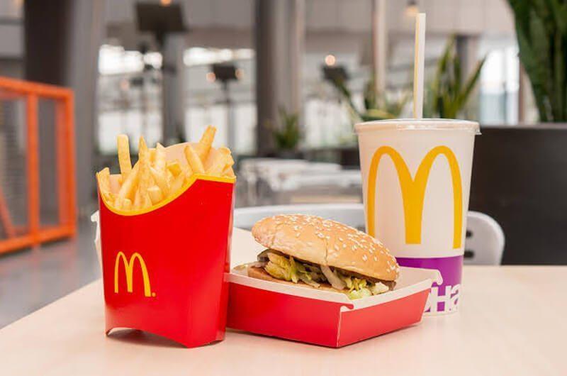 Menu McDonald