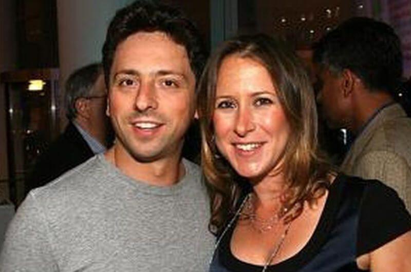 Anne Wojcicki, Istri Sergey Brin