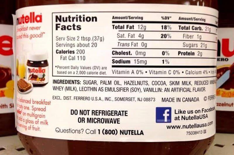 Bahan dasar nutella | apakah nutella sehat
