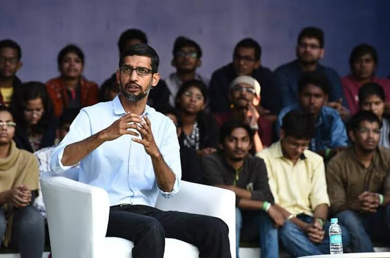 Sundar Pichai saat berkunjung di Indian Institute of Technology(IIT)