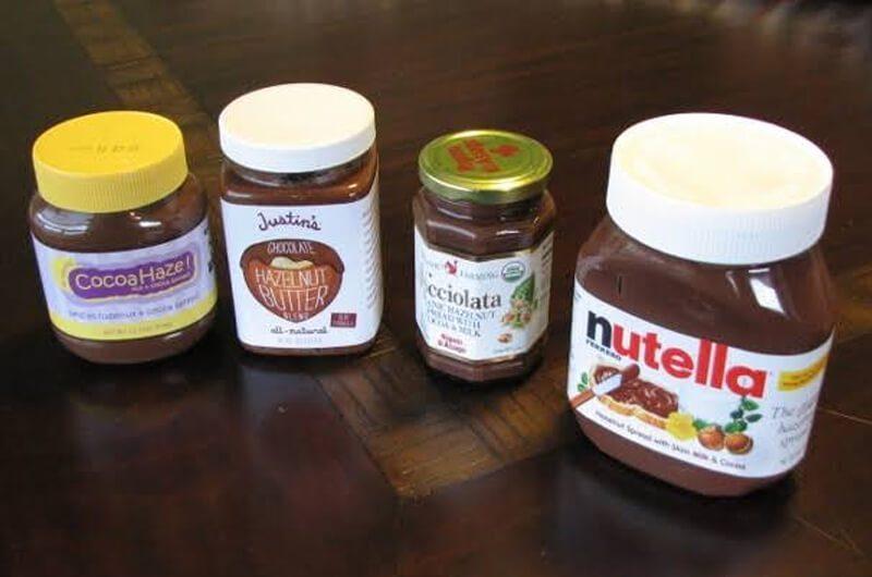 Nutella vs. selai kacang lain