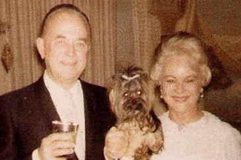 Ray Kroc dengan istri kedua, Jane Dobbins Green
