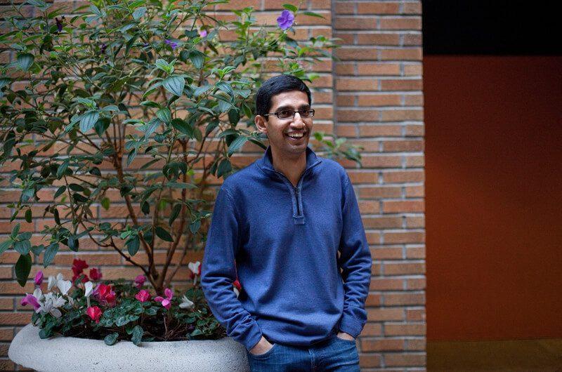 Sundar Pichai saat bekerja untuk Google, sebelum menjadi CEO Google