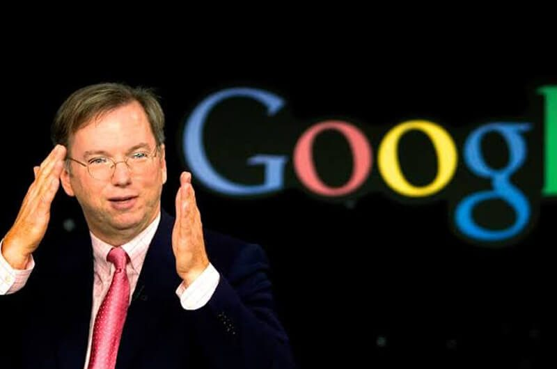 Eric Shmidt, CEO Google sebelum Sundar Pichai