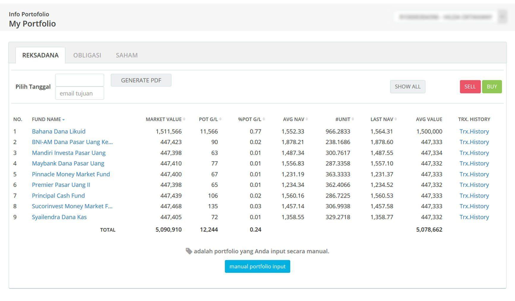 Screenshot Perkembangan Investasi Saham - Day 49, Selasa, 3 Maret 2020 BDL & PPO