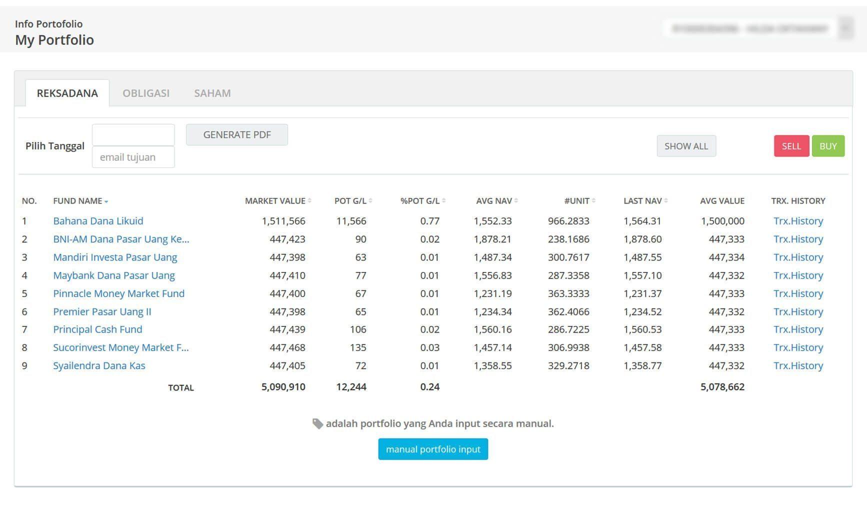 Screenshot Perkembangan Investasi Saham - Day 50, Rabu, 4 Maret 2020 BDL & PPO
