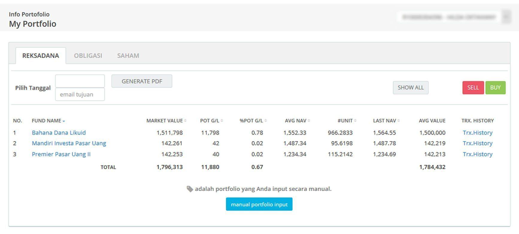 Screenshot Perkembangan Investasi Saham - Day 51, Kamis, 5 Maret 2020 BDL & PPO