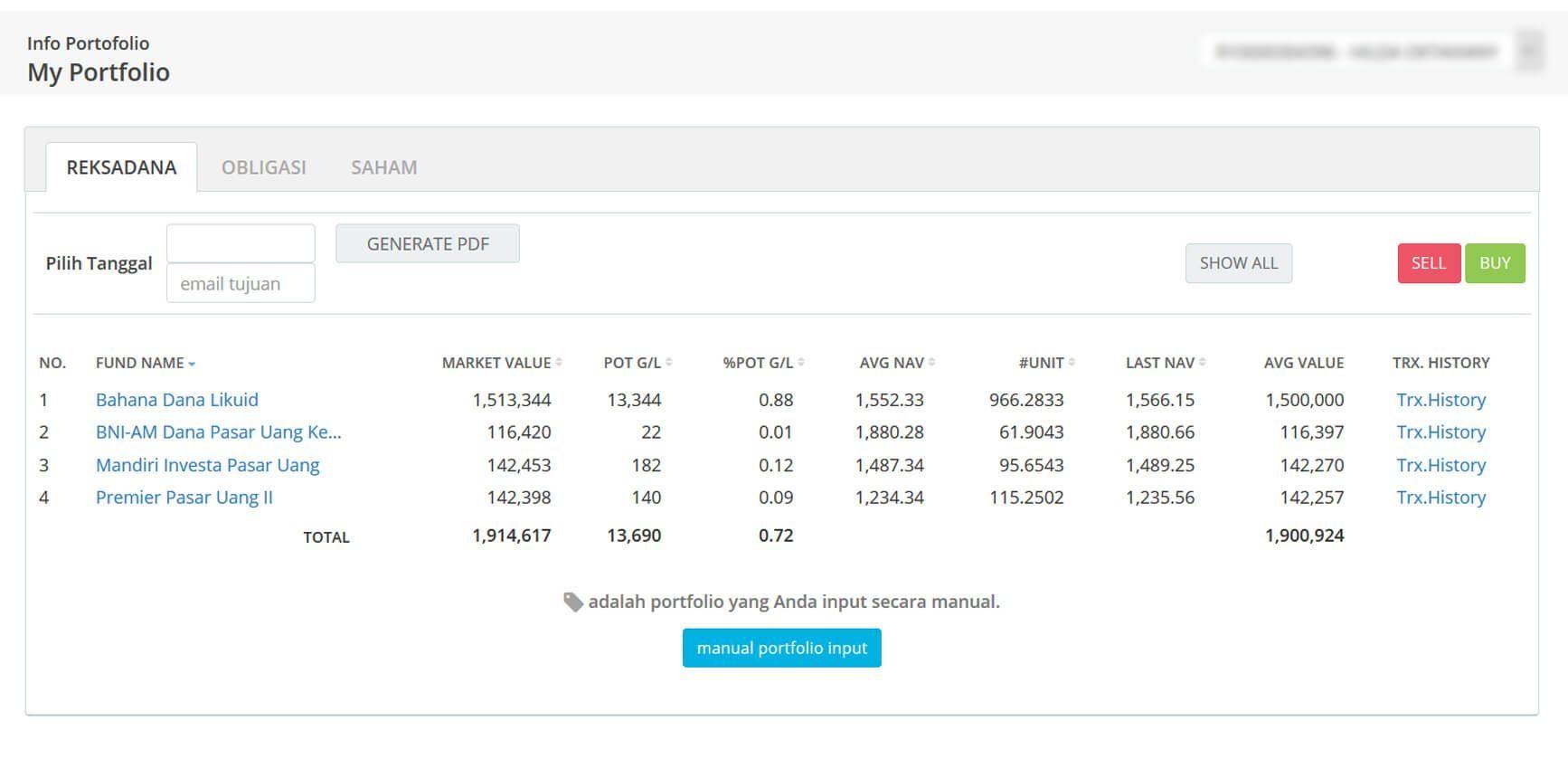 Screenshot Perkembangan Investasi Saham - Day 55, Rabu, 11 Maret 2020 BDL & PPO