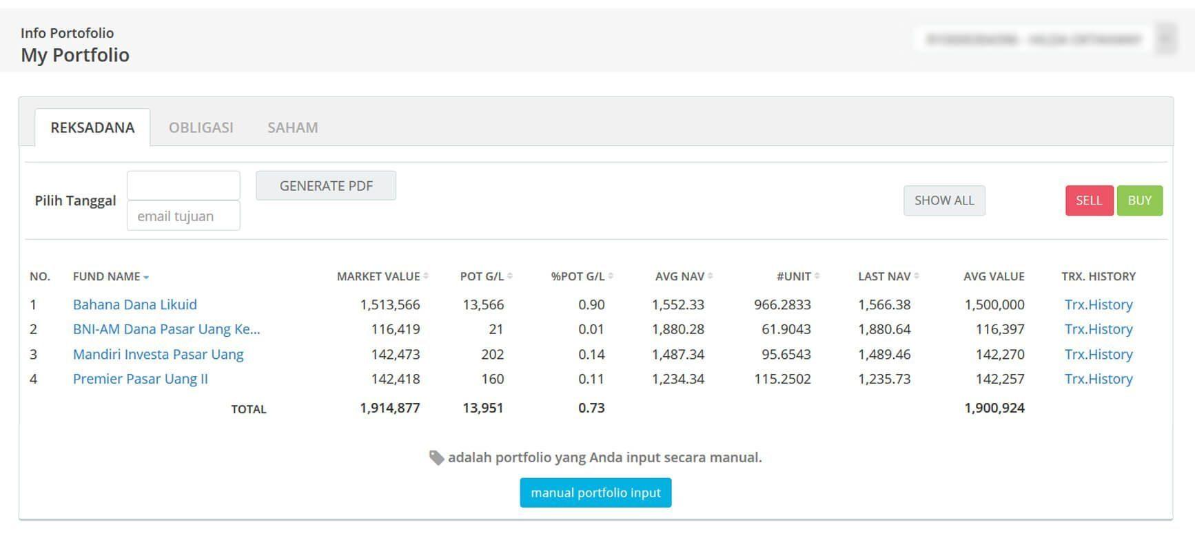 Screenshot Perkembangan Investasi Saham - Day 56, Kamis, 12 Maret 2020 BDL & PPO