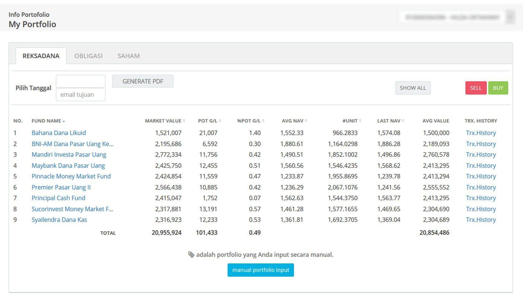 Screenshot Perkembangan Investasi Saham - Day 81, Senin, 20 April 2020 BDL & PPO