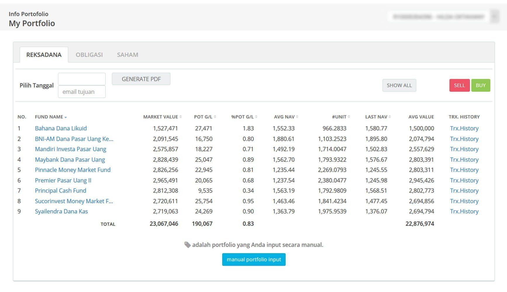 Screenshot Perkembangan Investasi Saham - Day 100, Senin, 18 Mei 2020 BDL & PPO