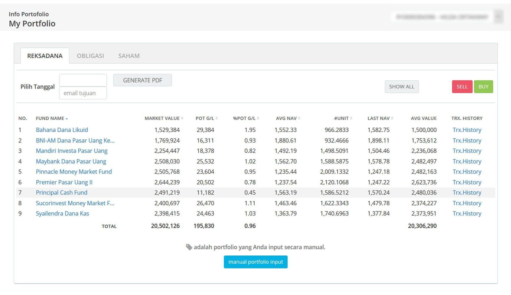 Screenshot Perkembangan Investasi Saham - Day 104, Rabu, 27 Mei 2020 BDL & PPO