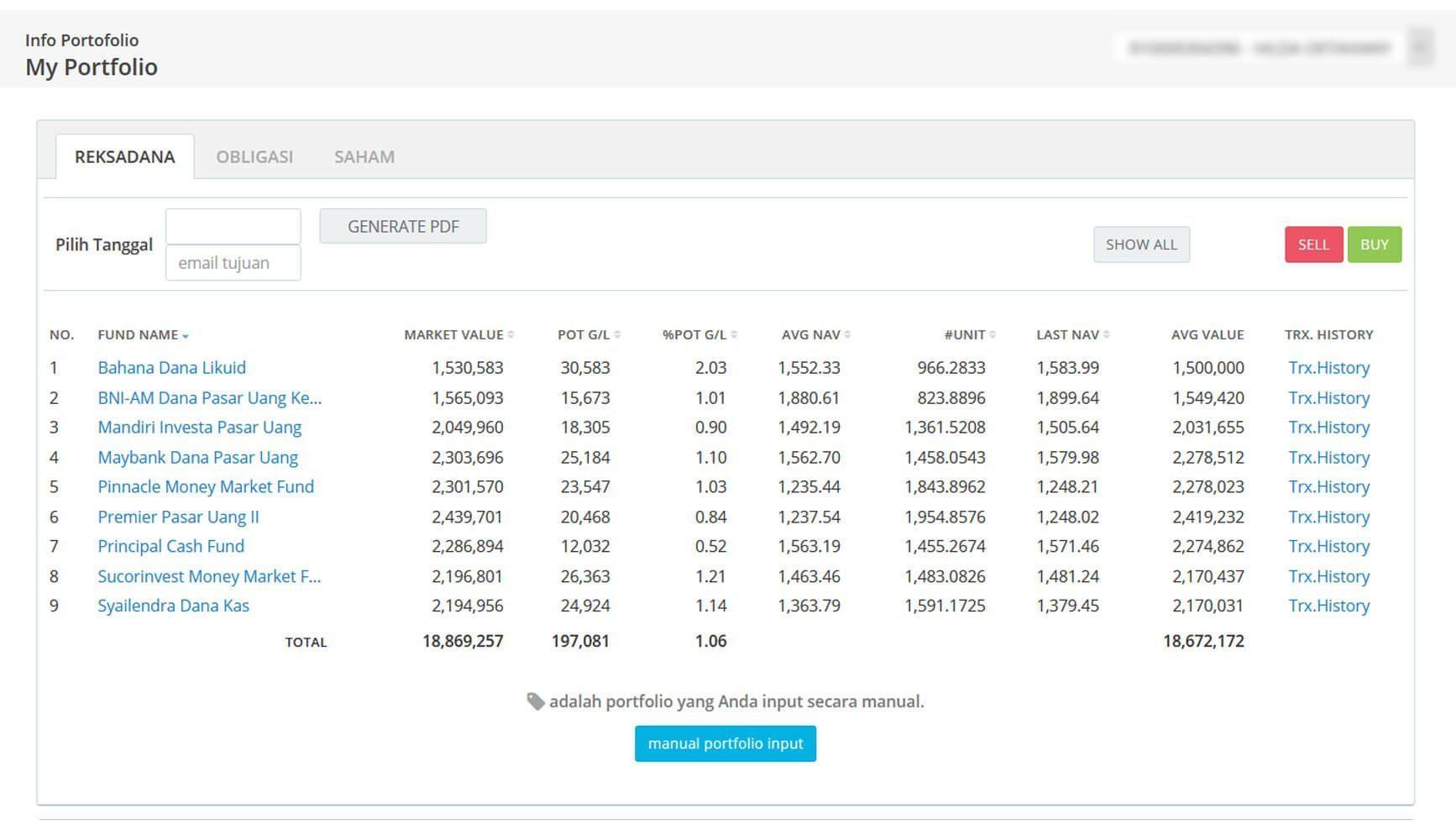 Screenshot Perkembangan Investasi Saham - Day 108, Rabu, 3 Juni 2020 BDL & PPO