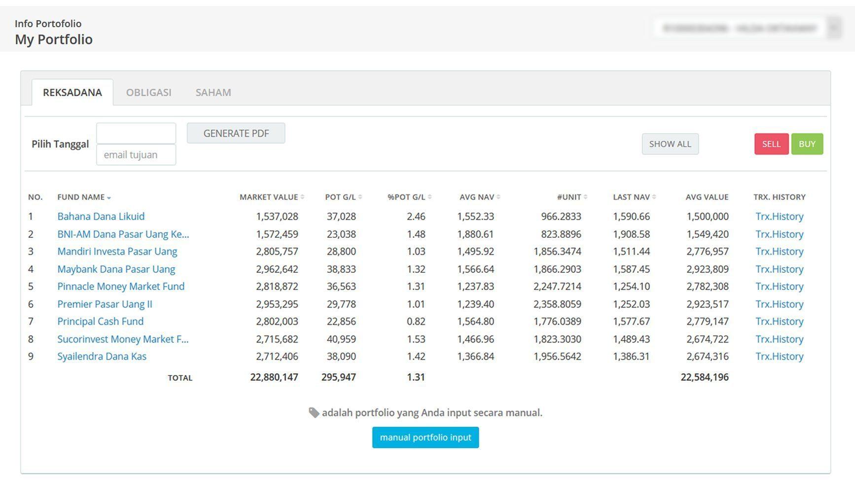 Screenshot Perkembangan Investasi Saham - Day 131, Jumat, 3 Juli 2020 BDL & PPO