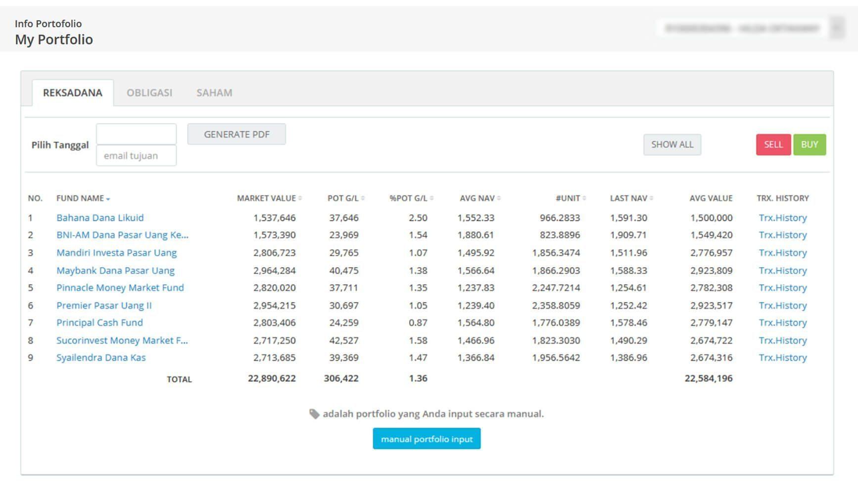 Screenshot Perkembangan Investasi Saham - Day 132, Senin, 6 Juli 2020 BDL & PPO