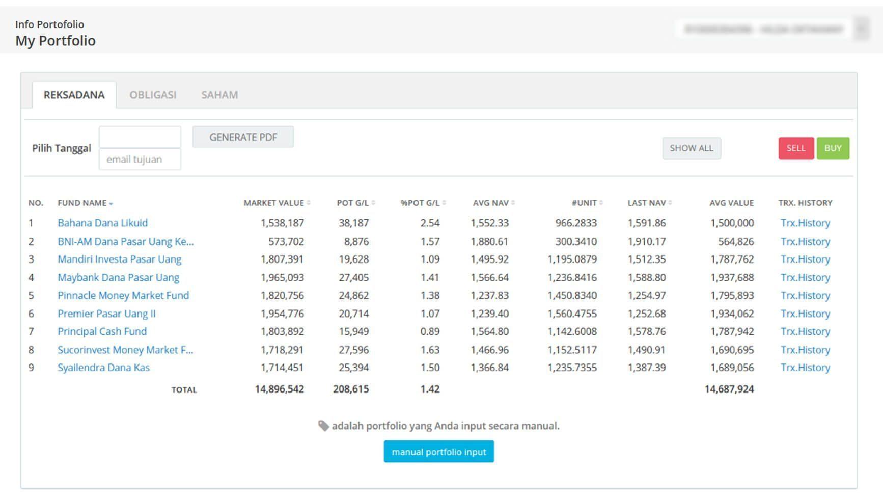 Screenshot Perkembangan Investasi Saham - Day 135, Kamis, 9 Juli 2020 BDL & PPO